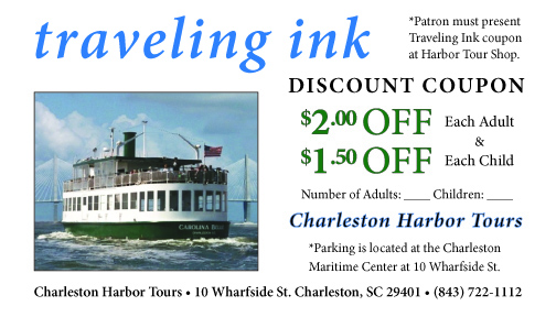 Receive a discount on both adult and child admission on daily tours of Charleston Harbor with this Charleston Harbor Tours coupon.