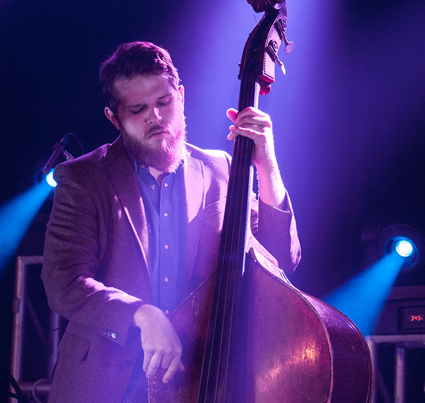 Everyone needs a little stand up bass in their lives. Hayden Cooke doesn't disappoint. © 2014 Audra L. Gibson. All Rights Reserved.