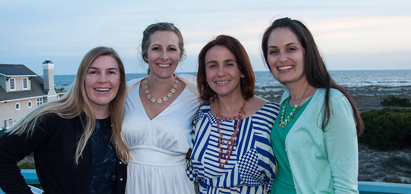 Bald Head Island Rehearsal dinner.