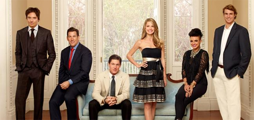 The cast of Southern Charm